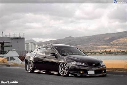 Tsx Acura Stance Stanced Cars Honda Low