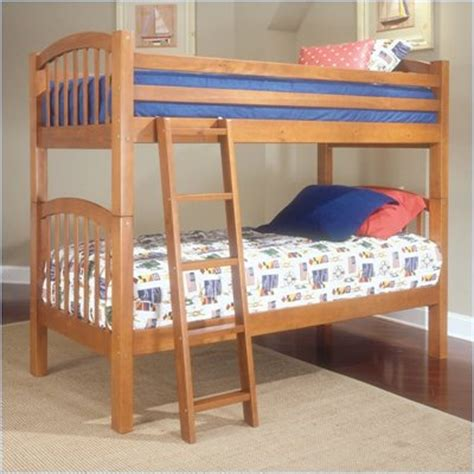 Bunk Beds Okc by Standard City Park Wood Bunk Cherry Finish