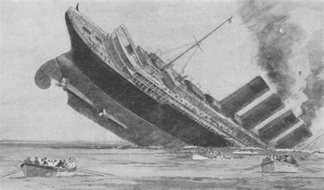 when did the lusitania sink simple facts and plain arguments 4 lies that led to