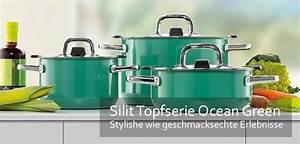 Silit Schnellkochtopf Set : silit kochtopfserie ocean green gro e auswahl top marken ~ Whattoseeinmadrid.com Haus und Dekorationen