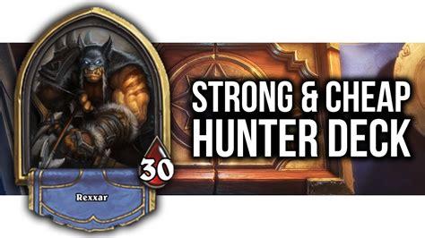Hearthstone Deck Reynad's Midrange Hunter (cheap & Easy