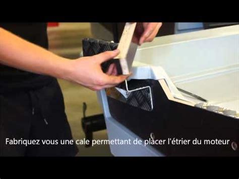 Chaise Moteur Hors Bord Occasion by Installation D Un Support Moteur 233 Lectrique Sur Une Barque