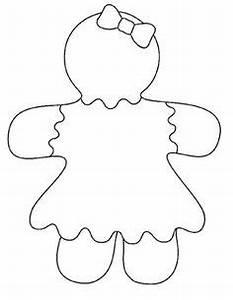 Gingerbreadman Writing Template | New Calendar Template Site