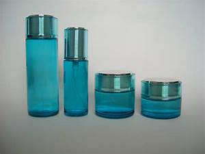 Custom cosmetic packaging recyclable glass bottles and for Custom cosmetic jars