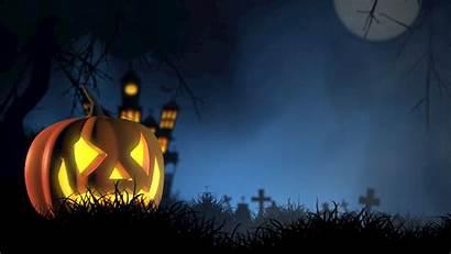 Halloween Pumpkin Spooky Background Autumn Face