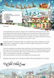 big santa letter personalised letters from santa claus With santa claus letter uk