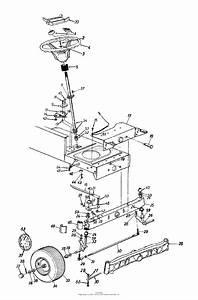 Mtd 13ah660f352  2000  Parts Diagram For Axle  Front