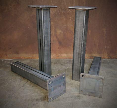 metal desk legs metal table legs set of 4 1228height