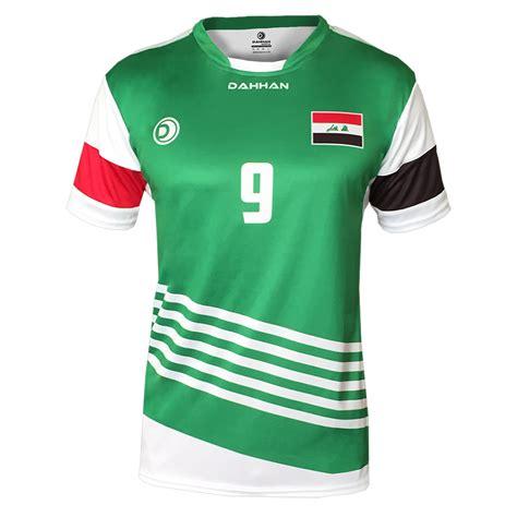soccer jersey 2016 iraq football jersey dahhan sports