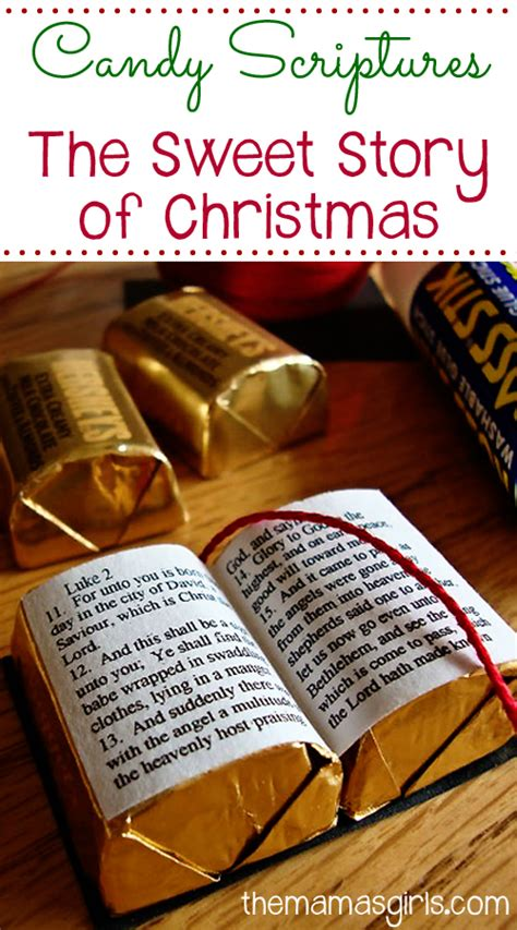candy scriptures  sweet story  christmas