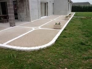 Dosage Beton Terrasse : prix pose beton desactive au m2 ~ Premium-room.com Idées de Décoration