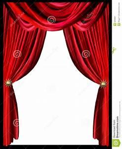 Rideau Rouge Et Noir : rideau rouge illustration stock illustration du trame 5032801 ~ Melissatoandfro.com Idées de Décoration