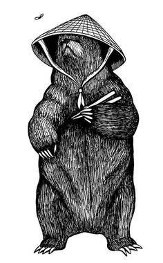 Black Bear clip art open source, free   Bear drawing, Grizzly bear drawing, Black bear tattoo