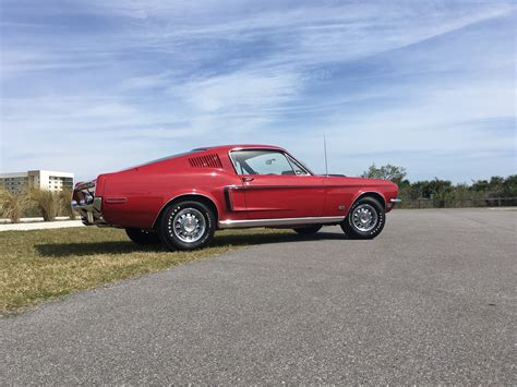 Mustang Cobra Jet 1968 by Rm Sotheby S 1968 Ford Mustang Gt 428 Cobra Jet Fastback