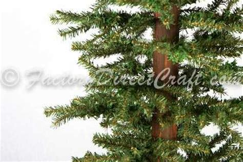 4 or 5 ftrustic christmas trees 4 foot primitive alpine tree trees and