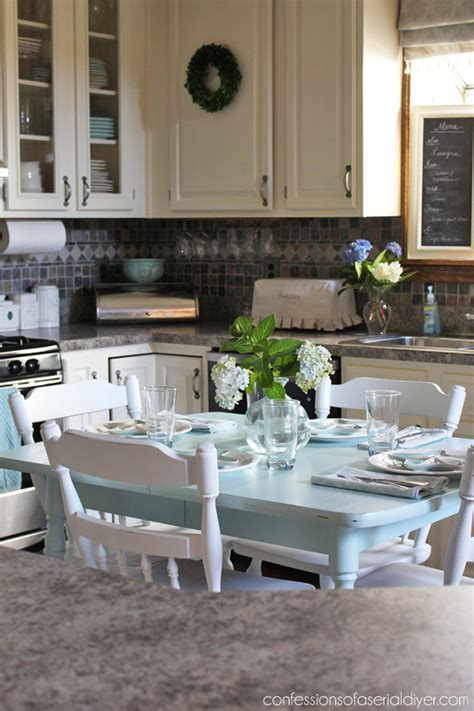 laminate kitchen table sets how to paint a laminate kitchen table confessions of a
