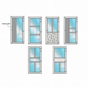 Porte d39entree pvc semi vitree bhautika haute qualite for Porte d entrée semi vitrée