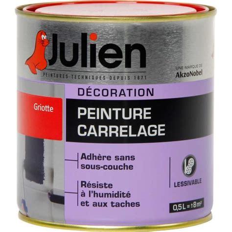 peinture carrelage sans sous couche julien 0 5l julien g peint destockage de peinture lasure