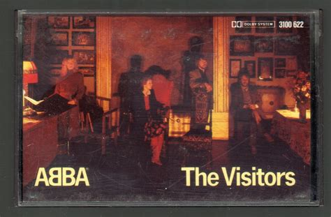 The Visitors 1981 ( Germany ) Cassette Tape