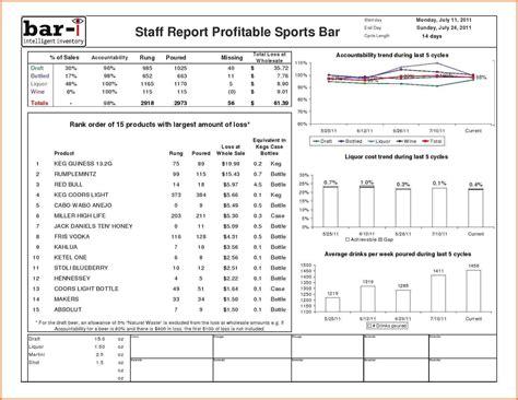 bar liquor inventory spreadsheet excel spreadsheets group