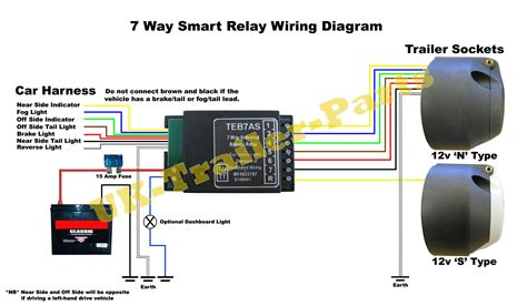 Way Universal Bypass Relay Wiring Diagram Trailer Parts