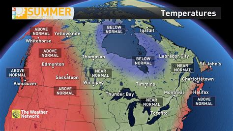 weather summer network montreal forecast calgary long term victoria been released temps releases dailyhive