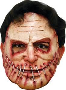 Halloween Half Face Masks Uk amazing scary halloween latex face amp head masks and half