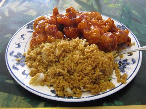 Orange Chicken & Fried Rice Yelp