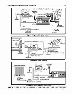 Msd 8950 Rpm Activated Switch Installation User Manual