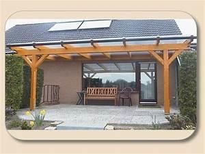 Terrassenuberdachung holz nach mass von holzonde for Holz für terrassenüberdachung