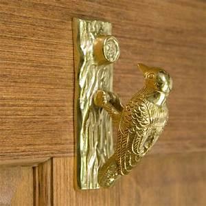 Woodpecker, Door, Knocker, -, Door, Knockers