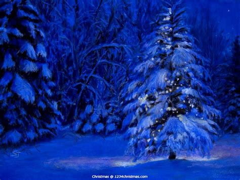 Blue Tree Wallpaper by 75 Tree Wallpapers For Free