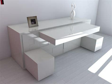 bureaux modernes design le bureau escamotable décisions pour les petits espaces