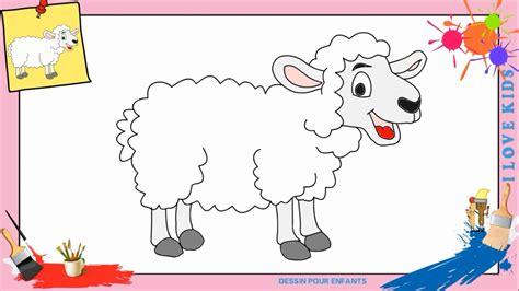 comment cuisiner le mouton dessin mouton 2 comment dessiner un mouton facilement
