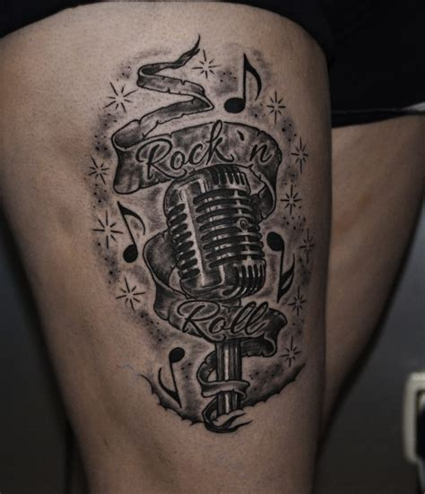 Tatuaje Microfono Rock N Roll Yelp