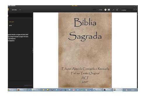 baixar o formato pdf da bíblia sagrada católica