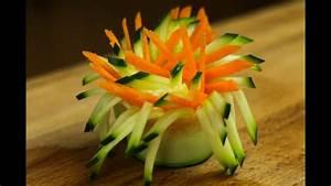 how to make pinwheel vegetable garnish