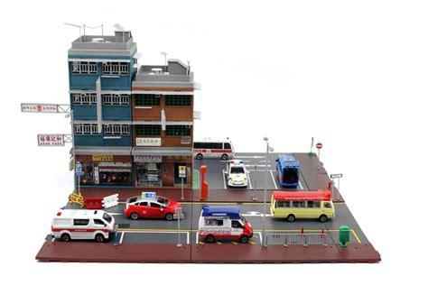tiny  tiny city bd hong kong  tenements street diorama set