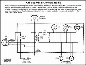 1941 Model 03cb Crosley Floor Console Radio Restoration