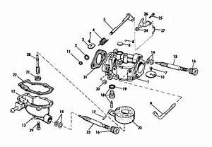 Johnson Carburetor Group Parts For 1970 4hp 4w70e Outboard