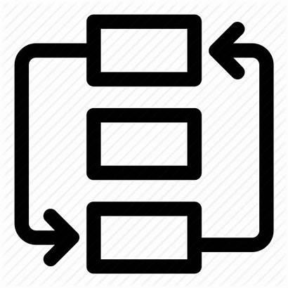 Process Icon Procedure Clipart Icons Diagram Flow