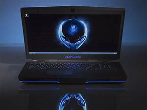 Alienware 17 3D Laptop Hands