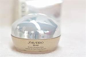 Masque De Nuit : produits pastels pour princesses press es shiseido ibuki ~ Melissatoandfro.com Idées de Décoration