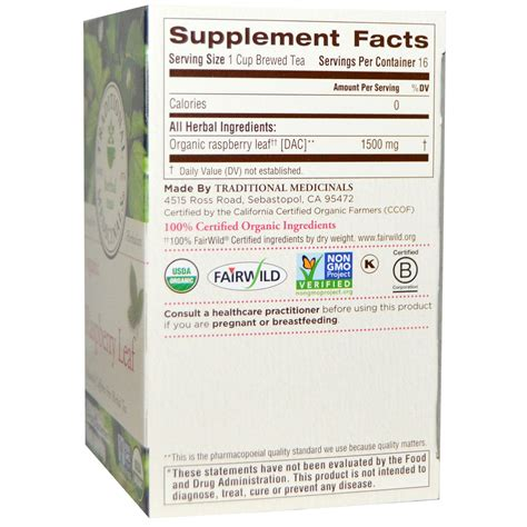 Raspberry Leaf Tea Nutrition Theleafco