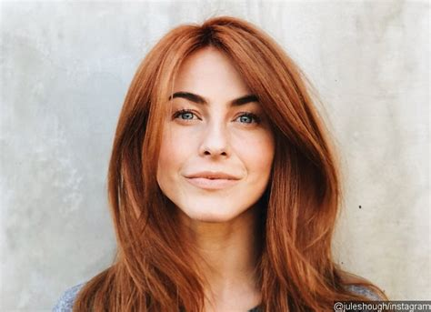 Julianne Hough Is A Redhead On Valentines Day See The Pics