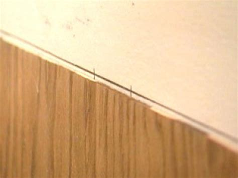 How To Cut Wainscoting by How To Cut Stain And Install Wainscoting Panels How Tos