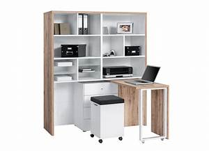 Petit Bureau Avec Rangement Meuble De Bureau Moderne