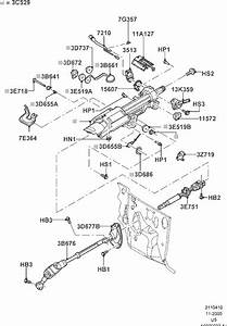 Exploded View For The 2003 Ford Explorer Tilt