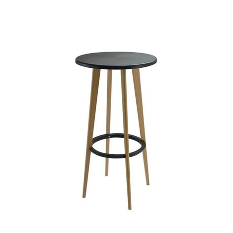Table De Bar Ronde Design Blanche Harry's By Drawer