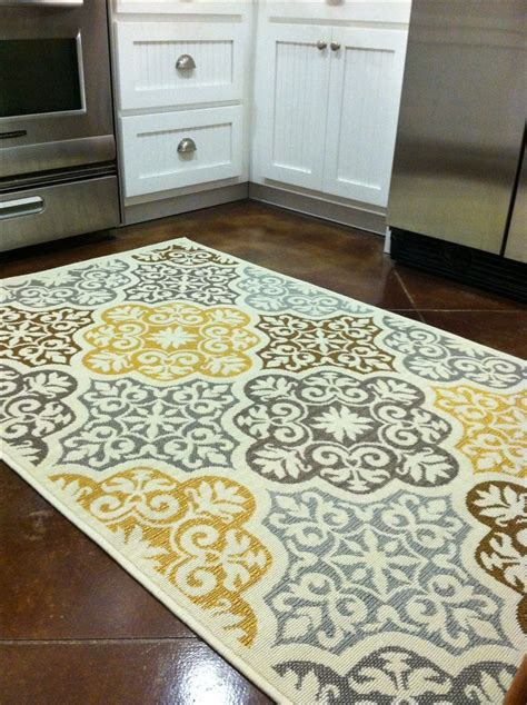 kitchen rug ideas kitchen rug purchased from overstock com blue grey
